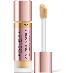 Revolution, Conceal & Define F5.7, makeup