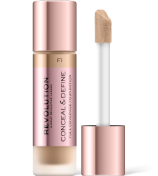 Revolution, Conceal & Define F1, makeup