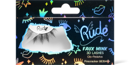 Rude Cosmetics, Essential Faux Mink 3D Lashes Firecracker, řasy