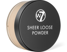 W7 Cosmetics, Sheer Loose Natural Beige, pudr
