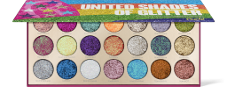 Rude Cosmetics, United Shades of Glitter, paletka